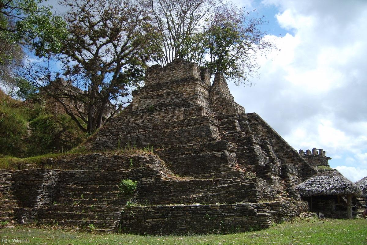 ▷Conoce la Zona Arqueológica Toniná en Chiapas