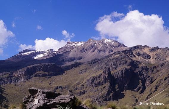 El Volcán Iztaccíhuatl: la Mujer Dormida